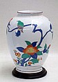 JAPANESE PORCELAIN COLLECTOR'S VASE by Kakiemon