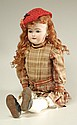 HEINRICH HANDWERCK BISQUE HEAD DOLL. Marked 79/ 16