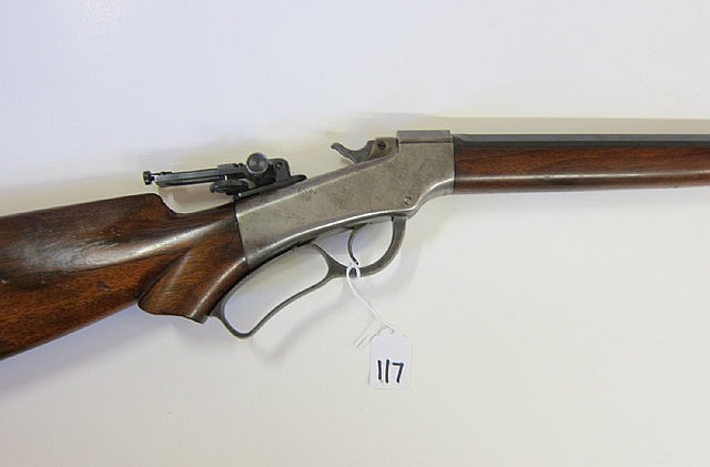 BALLARD NO.9 SINGLE SHOT RIFLE, 38-55 caliber,