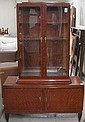 MAHOGANY CABINET ON CABINET, Swedish, early 20th