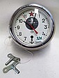 RUSSIAN SUBMARINE/SHIP CLOCK, spring wound eight