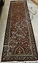 HAND KNOTTED ORIENTAL HALL RUG, Indo-Kashan,