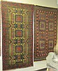TWO BELOUCHI TRIBAL AREA RUGS, both hand knotted