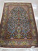 HAND KNOTTED ORIENTAL PRAYER RUG,