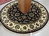 ROUND ORIENTAL AREA RUG, Indo-Persian, hand