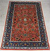 HAND KNOTTED ORIENTAL AREA RUG, Persian floral