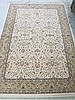 KARASTAN CARPET, Persian Renaissance Collection, Keshan Ivory pattern, machine made in Belgium, 5'3