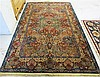 KARASTAN AMERICAN ORIENTAL CARPET, Samovar Collection, Kirman Panel design, machine loomed, 5'10