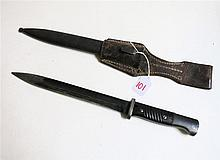 GERMAN WORLD WAR TWO K98 BAYONET, 9 3/4