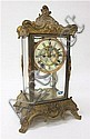 CRYSTAL REGULATOR MANTEL CLOCK, Ansonia Clock Co.,