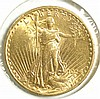U.S. TWENTY DOLLAR GOLD COIN, St. Gaudens type,