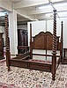 FOUR-POSTER KING BED WITH RAILS, Pulaski Furniture