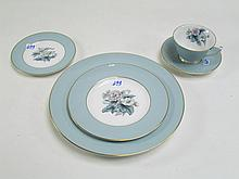 ROYAL WORCESTER CHINA SET,