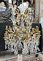LOUIS XV STYLE CANDLESTICK CHANDELIER, French,
