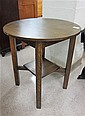 MISSION OAK LAMP TABLE, Charles A. Greenman Co.,