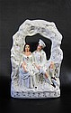 BRITISH STAFFORDSHIRE WEDDING COUPLE FIGURINE,