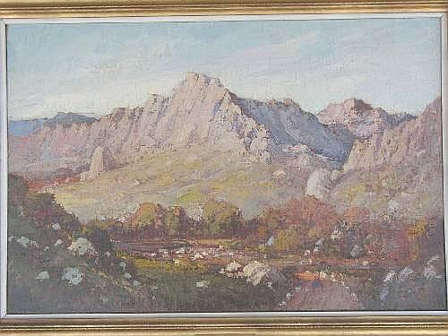 Jack PIETERS (South African 1886 - 1977) OIL ON