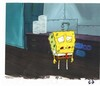 ORIGINAL HAND PAINTED PRODUCTION CEL FROM THE 1ST SEASON OF SPONGEBOB SQUAREPANTS 1999