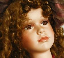 Cathay Collection Victorian Style Porcelain Doll