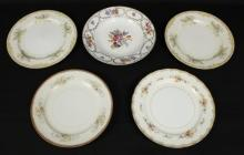 5 Decorative Japan, China, Bavaria Plates