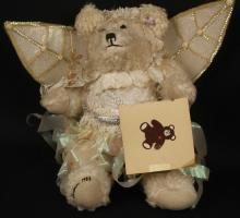 Vintage 1987 Signed Angel Teddy Bear