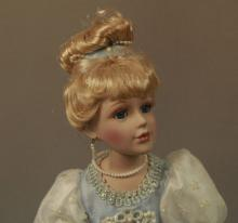 Porcelain Cinderella Princess Doll