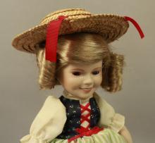 1986 Shirley Temple Porcelain Heidi Doll