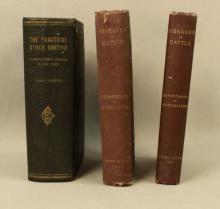 3 Veterinary Stock Dr. & USDA Cattle Disease Books