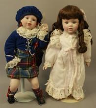 Scottish & Bedtime Porcelain Dolls