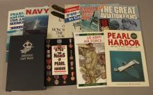 Military, Air Force, Pearl Harbor Book Lot