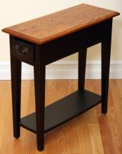 Narrow End Table With Drawer