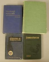 4 -1900's Poultry Farm / Veterinary Books