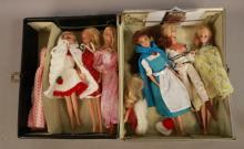 1960s Barbie Case With Dolls & Accessories
