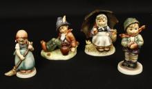 Lot of 4 German Goebel Hummel Figurine Lot