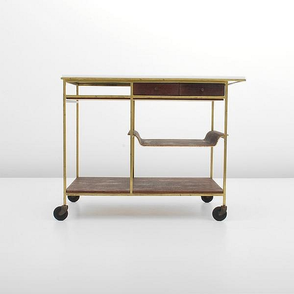 Paul McCobb Tea Cart