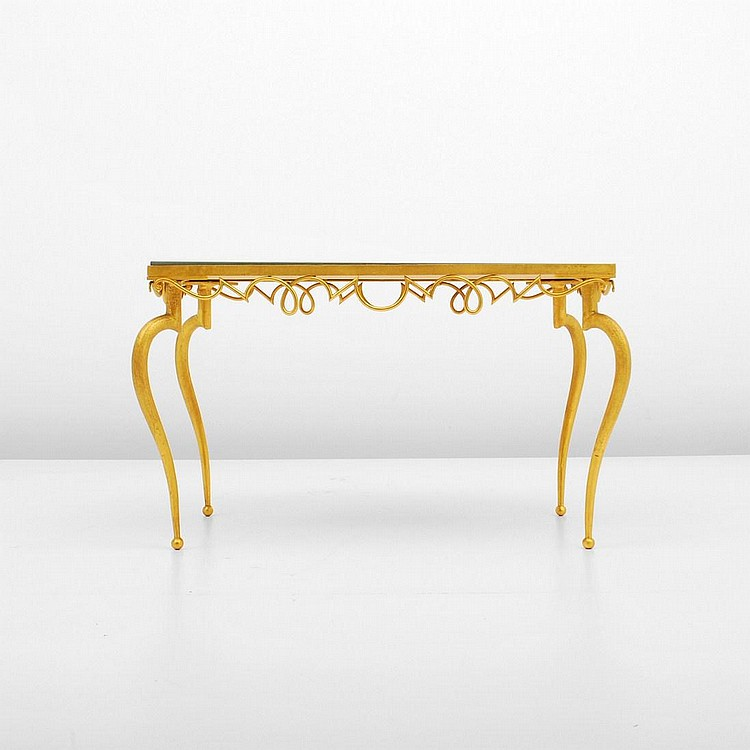 Rare Rene Drouet Occasional Table
