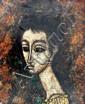 Framed Enrico Campagnola Painting