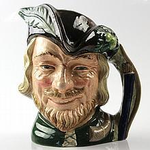 Royal Doulton Robin Hood Toby Jug England, 1959.
