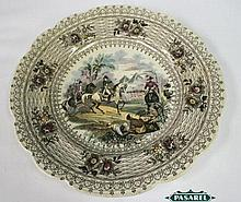 Napoleon Egyptian Campaign Porcelain Plate, Wm. Smith.