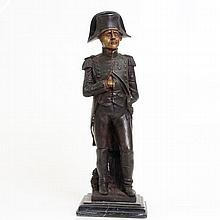 Napoleon Bonaparte Cold Painted Bronze Sculpture