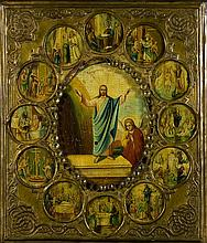 Russian Orthodox Icon.