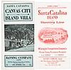 Rare travel brochures for Santa Catalina from 1900-15
