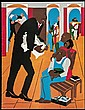 1990 Jacob Lawrence Art for NAACP Legal Fund Anniversary - Program booklet for