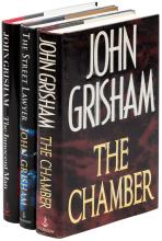 Three novels by John Grisham