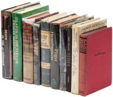 Ten volumes of Ernest Hemingway