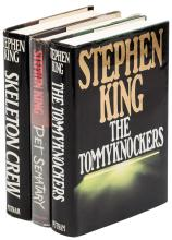 Three first editions by Stephen King