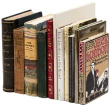 Eleven volumes concerning Jack London