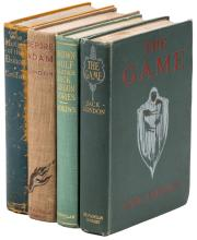 Four volumes by Jack London