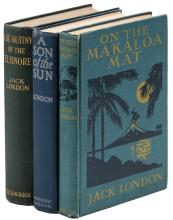Three volumes by Jack London