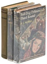 Three novels in the Bulldog Drummond series